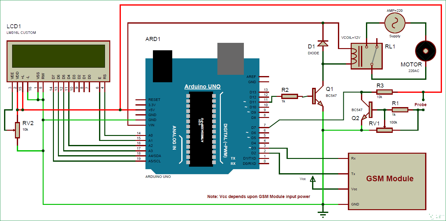 Interesthing Arduino Based Automatic Plant Irrigation